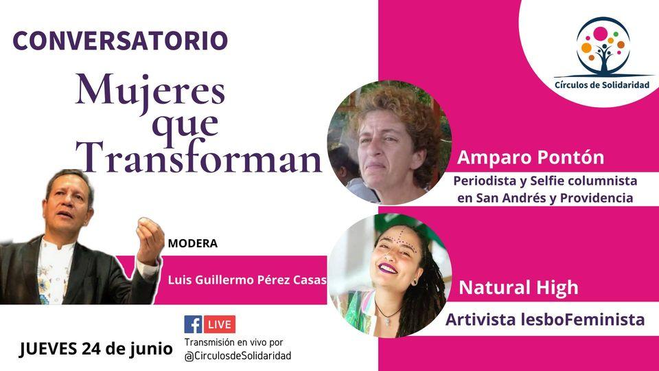 Mujeres Que Transforman Amparo Ponton - Natural High