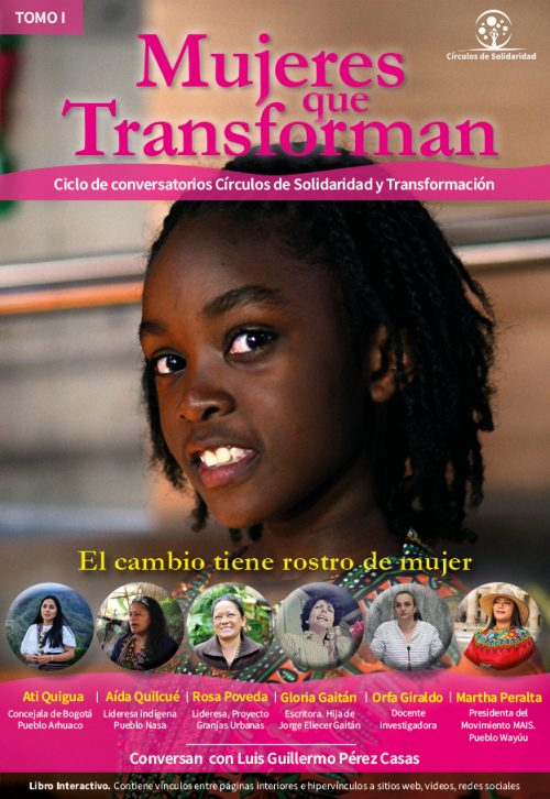 Abre y descarga Libro Interactivo Mujeres que Transforman